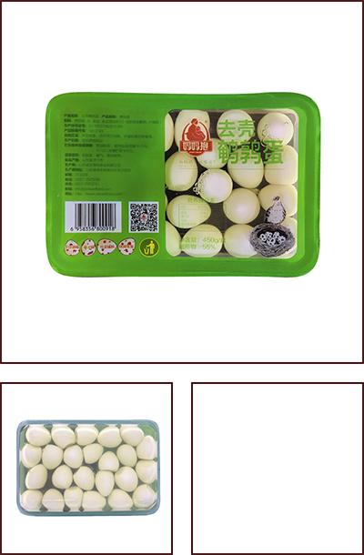 450克盒装鹌鹑蛋