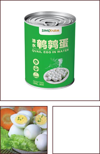 850克/罐去壳鹌鹑蛋