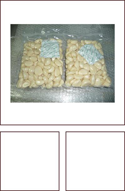 500克真空袋脱皮蒜米 家庭装