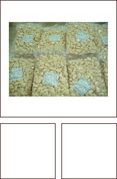 2.5千克/袋 脱皮蒜米