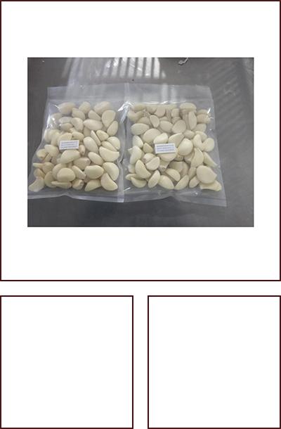 250克/氮气袋脱皮蒜米 家庭装