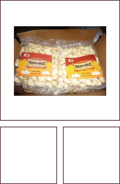 500克/氮气袋脱皮蒜米 家庭装