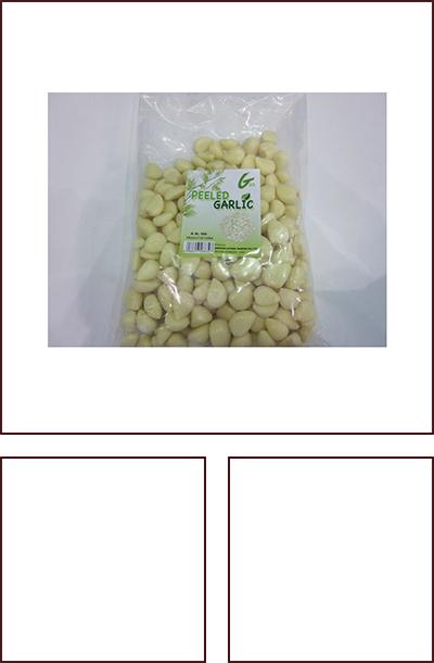 1千克/氮气袋脱皮蒜米