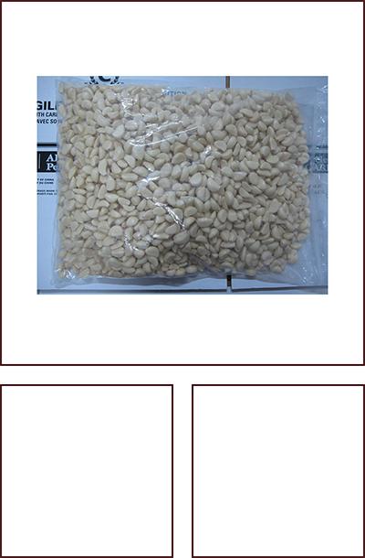 5.0千克/袋脱皮蒜米